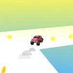 Truck Run 3D - Colorful endless running car game Icon