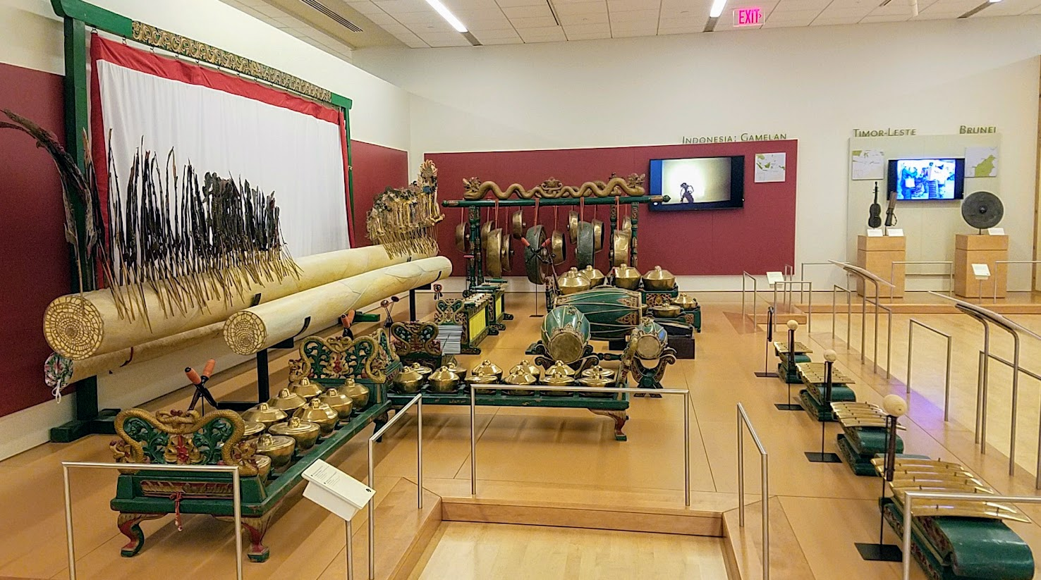 Music Instrument Museum (MIM) Geographic galleries music instruments of Indonesia