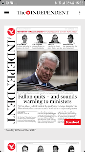 The Independent Daily Edition- screenshot thumbnail