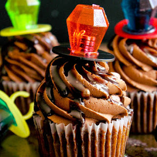 Chocolate Syrup Cupcakes