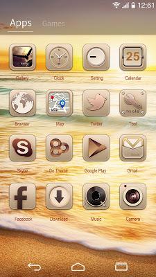 Decency Craft GOLauncherTheme - screenshot
