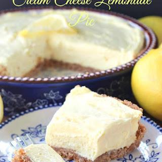 Cream Cheese Lemonade Pie.