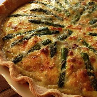 Teresa's Ham & Asparagus Quiche