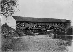 Photo: Podul de lemn - (vedere din amonte, Turda-Oprisani ) sursa Facebook. R.C. https://www.facebook.com/permalink.php?story_fbid=1610446249268856&id=100009104908756&pnref=story