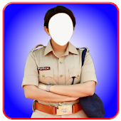 Women police photo suit