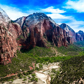 Zion Valley by Natures Grenade - Landscapes Caves & Formations