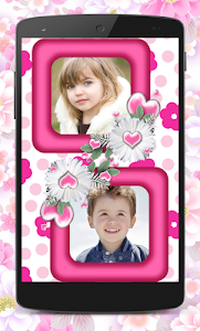 Flower Couple Collage Frames screenshot 3