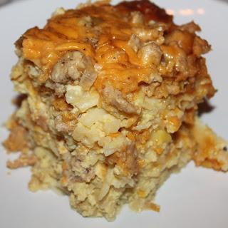 Overnight Slow Cooker Breakfast Casserole