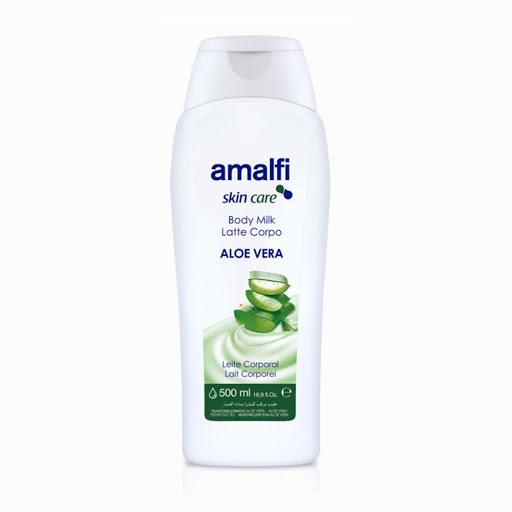 crema corporal amalfi body milk aloe vera 500 ml