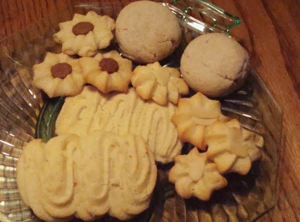 Buttery Spritz Cookies Recipe