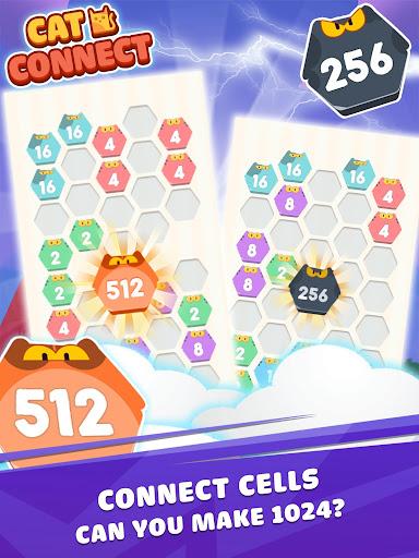 Cat Cell Connect - Merge Number Hexa Blocks 1.0.1 screenshots 7