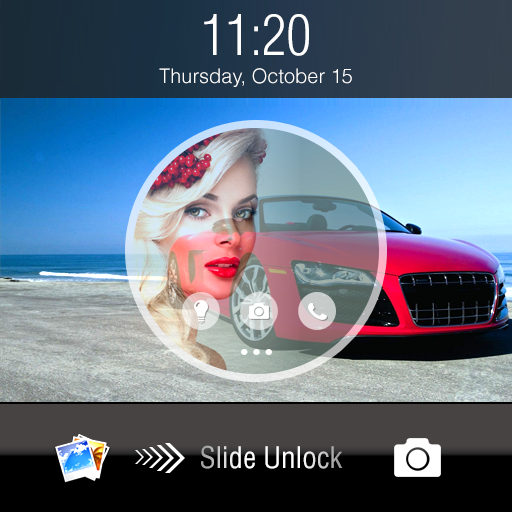 Lock Screen With Slider Android APK Download Free By Tech7