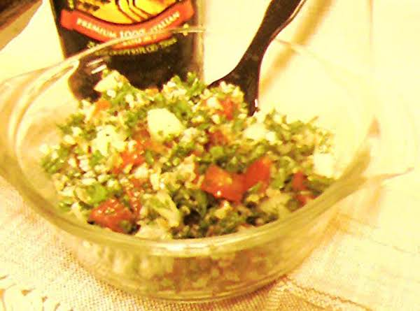 Pam's Tabouli / Taboulleh Recipe
