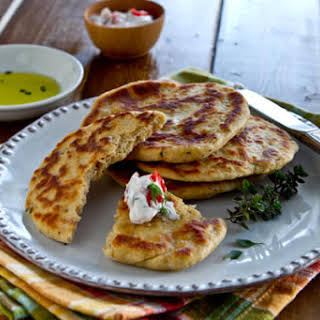 Yogurt Flatbreads.