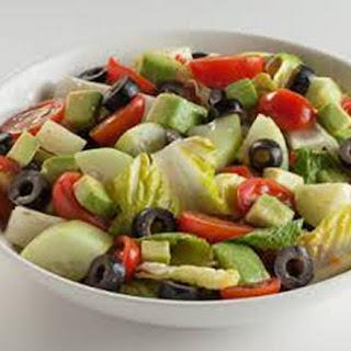 Italian Avocado Salad.