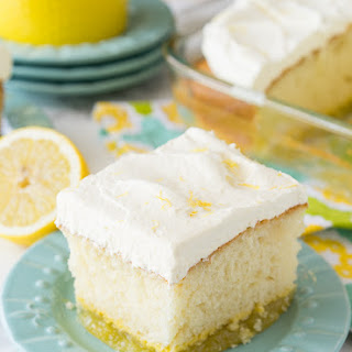 Lemon Bar Magic Cake