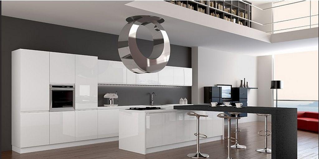 phong cách thiết kế nội thất hitech style