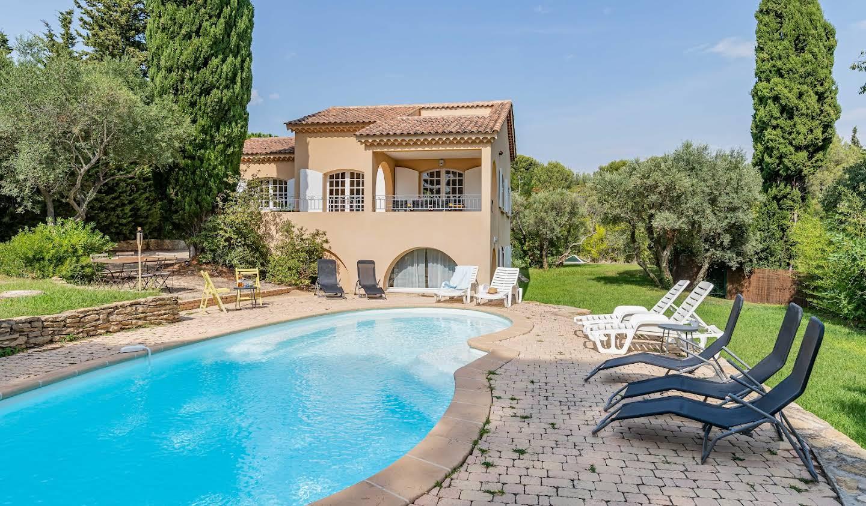 Villa avec piscine en bord de mer Saint-Cyr-sur-Mer