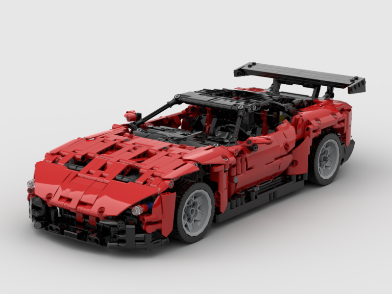 Lego Moc 18800 Aston Martin Vulcan Technic Model Race 2018