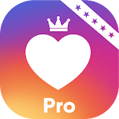 Real Likes Pro for Real Followers Fame Icon
