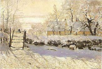 "Photo: Claude Monet, ""La gazza"" (1868-1869)"