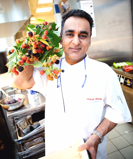 Michelin-starred chef Vineet Bhatia