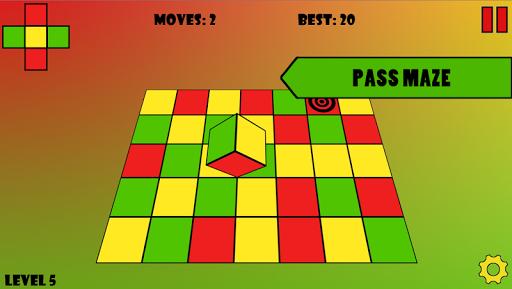 Color Cube Maze 3D для планшетов на Android