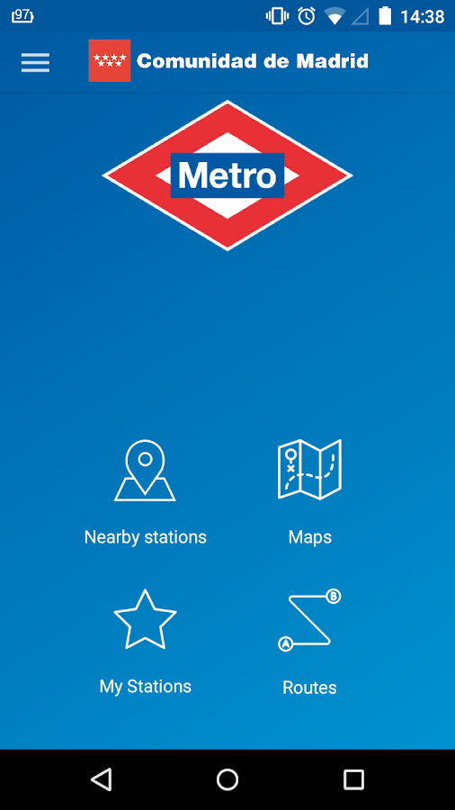 Metro de Madrid Official- screenshot
