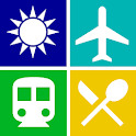 Taipei Travel Guide, Attractions, MRT, Map, App icon