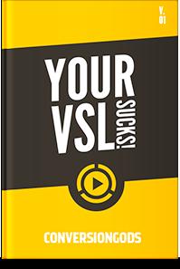 Your VSL Sucks Special Report