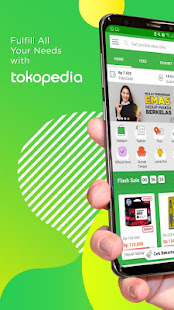 App Tokopedia - Online Shopping & Mobile Recharge APK for Windows Phone