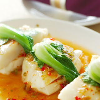 Steamed Fish And Vegetables Healthy Recipes.