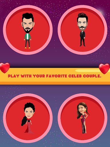 Crick Couple - Valentine's Love Game 4.0 screenshots 1