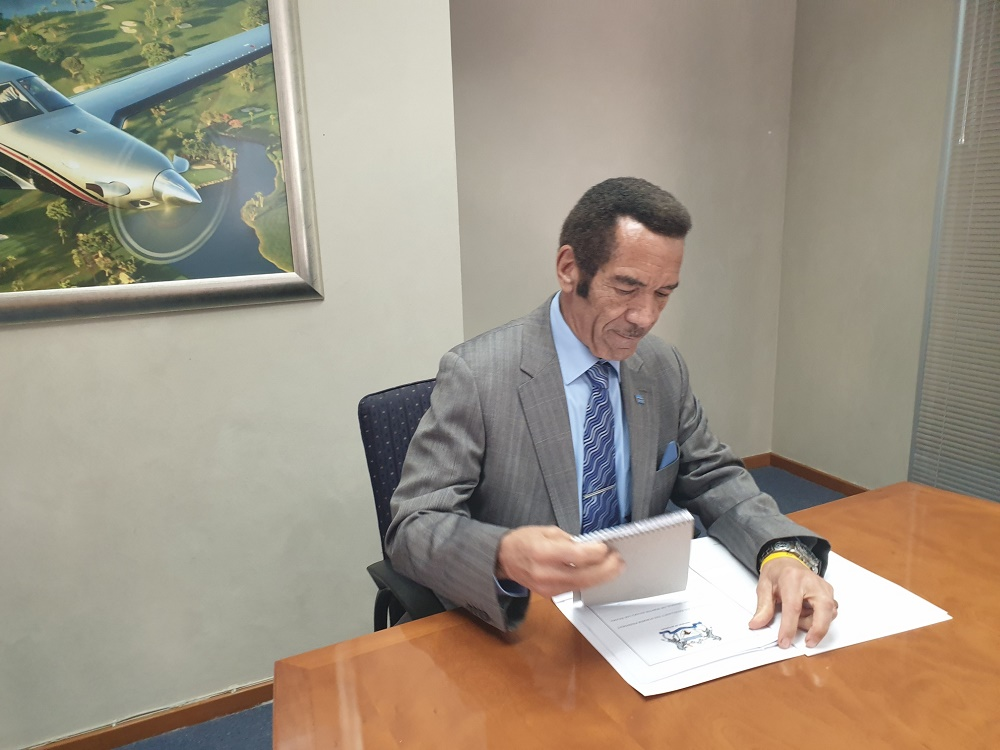 Ian Khama to sue Botswana government for defamation, hires investigators - SowetanLIVE