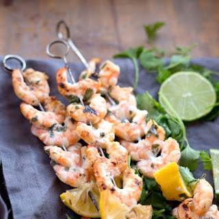 Citrus Marinated Shrimp Skewers