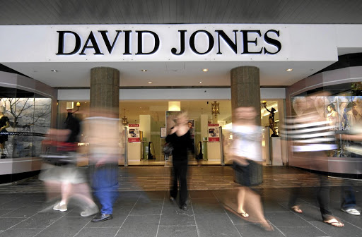 David Jones department store in Australia. Picture: Getty Images
