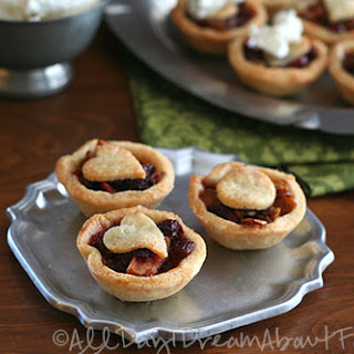 Mincemeat Tarts with Hard Sauce – Low Carb and Gluten-Free