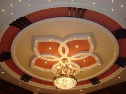Návrh stropů pro domovy v hale - náhled