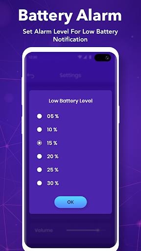 Full Battery Charge Alarm : Battery Full Alert screenshot 3