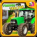 Farmer Tractor Yield Simulator icon