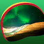 Northern Light Live Wallpapers APK icon