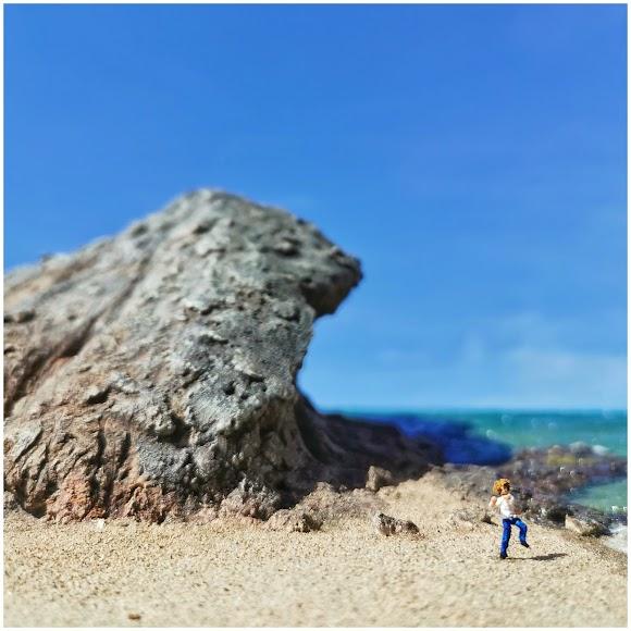 Mónsul y David Bisbal en diorama.