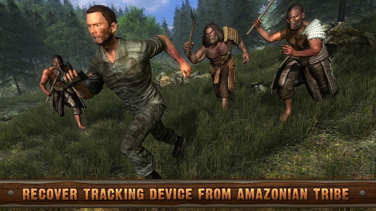 Amazon Jungle Survival Escape- screenshot