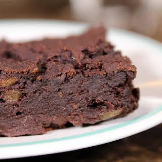 Salt, Oil, Sugar, & Gluten Free Vegan Brownies.