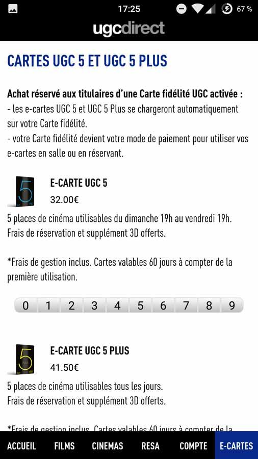 UGC Direct - Films et Cinéma- screenshot