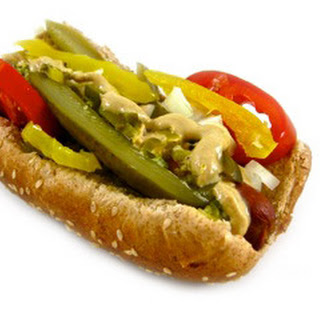 Chicago-Style Hot Dog Made Skinny