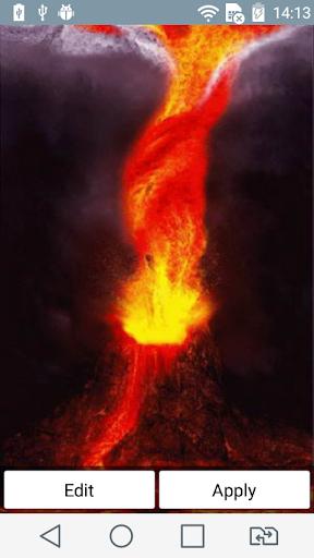 Volcanic tornado live wallpape