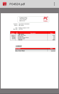DSI Mobile Client – for Honeywell Device - náhled