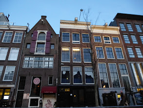 Photo: Anne Frank's House from the canal