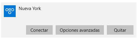 proxy en Windows 10